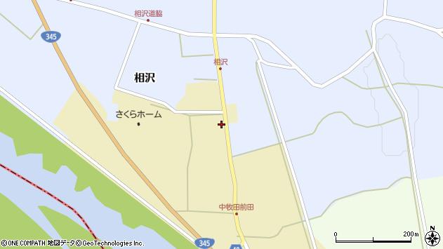 山形県酒田市中牧田谷地77周辺の地図