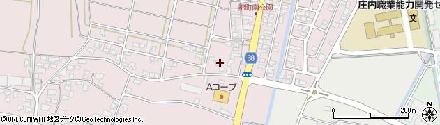 山形県酒田市坂野辺新田東狢山63周辺の地図