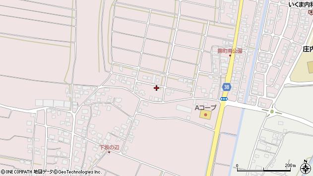 山形県酒田市坂野辺新田東狢山32周辺の地図