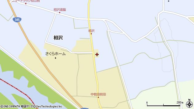 山形県酒田市中牧田谷地69周辺の地図
