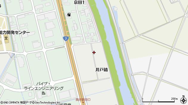 山形県酒田市広野井戸錆周辺の地図