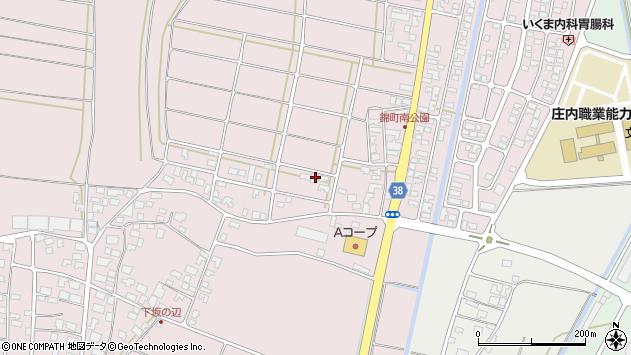 山形県酒田市坂野辺新田東狢山57周辺の地図