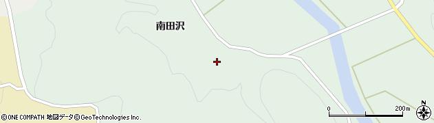 山形県酒田市田沢南田沢周辺の地図