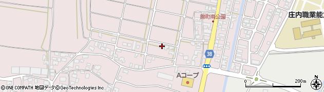 山形県酒田市坂野辺新田東狢山56周辺の地図