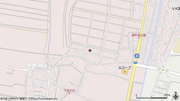 山形県酒田市坂野辺新田東狢山17周辺の地図