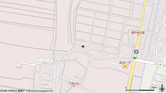 山形県酒田市坂野辺新田東狢山16周辺の地図