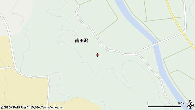 山形県酒田市田沢南田沢67周辺の地図