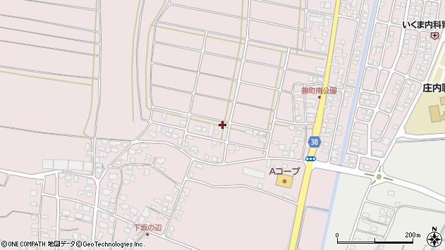 山形県酒田市坂野辺新田東狢山31周辺の地図