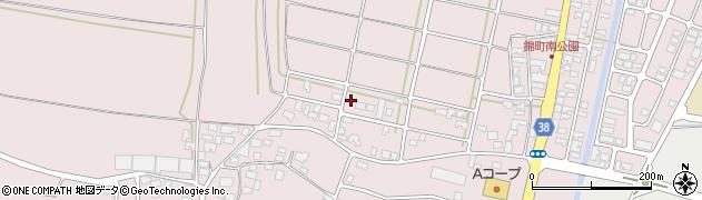 山形県酒田市坂野辺新田東狢山23-7周辺の地図
