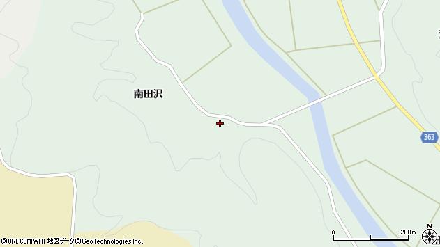 山形県酒田市田沢南田沢51周辺の地図