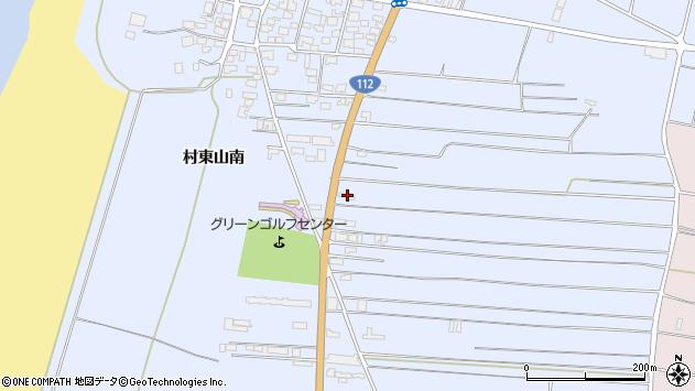 山形県酒田市十里塚村東山南345周辺の地図