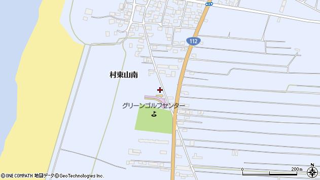 山形県酒田市十里塚村東山南346周辺の地図