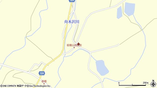 山形県最上郡金山町朴山985周辺の地図