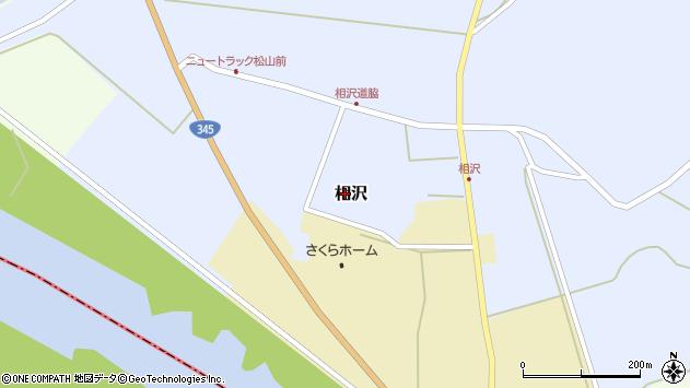 山形県酒田市相沢道脇周辺の地図