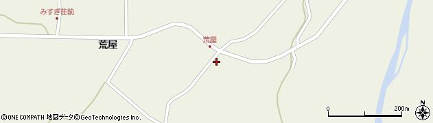 山形県最上郡金山町金山荒屋317周辺の地図