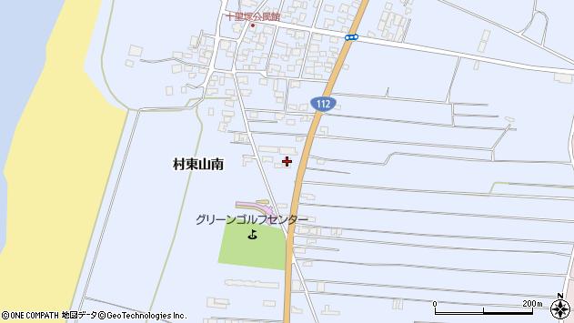 山形県酒田市十里塚村東山南356周辺の地図