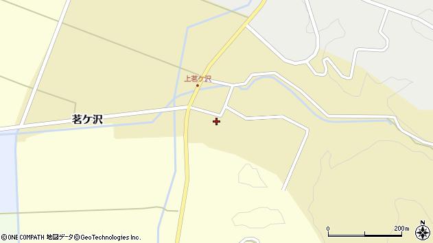 山形県酒田市茗ケ沢沢尻141周辺の地図