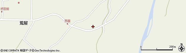 山形県最上郡金山町金山荒屋65周辺の地図