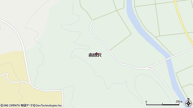 山形県酒田市田沢南田沢80周辺の地図