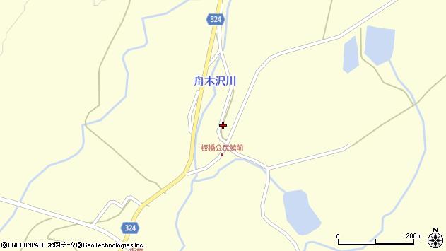 山形県最上郡金山町朴山521周辺の地図