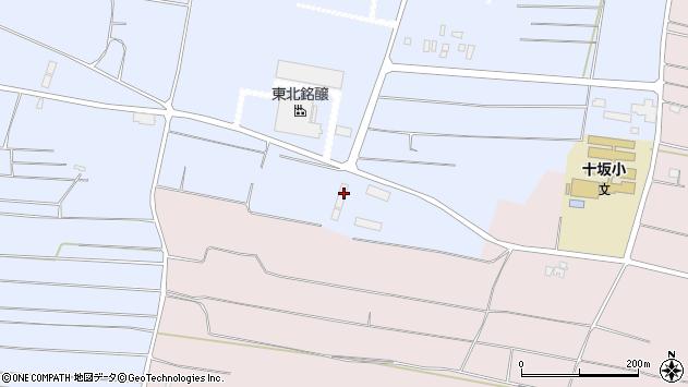 山形県酒田市十里塚村東山129周辺の地図