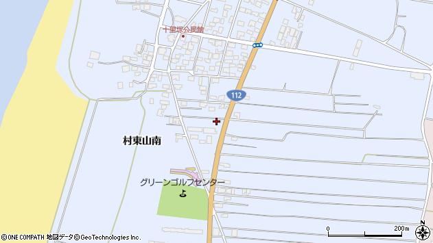 山形県酒田市十里塚村東山南362周辺の地図
