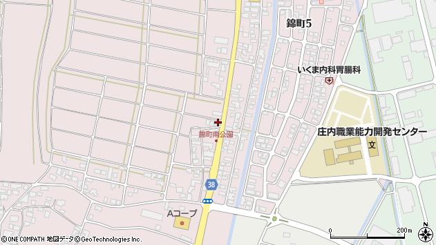 山形県酒田市坂野辺新田東狢山99周辺の地図
