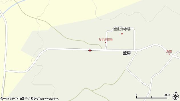 山形県最上郡金山町金山荒屋831周辺の地図