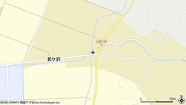 山形県酒田市茗ケ沢早房1周辺の地図