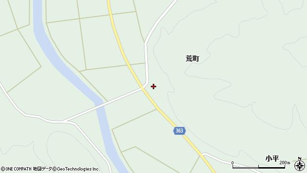 山形県酒田市田沢荒町64周辺の地図