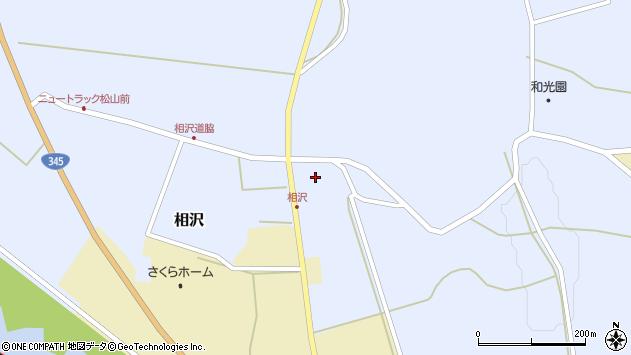 山形県酒田市相沢沢脇22周辺の地図