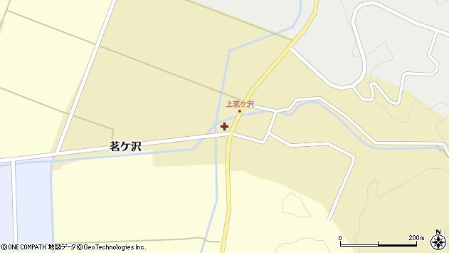 山形県酒田市茗ケ沢早房周辺の地図