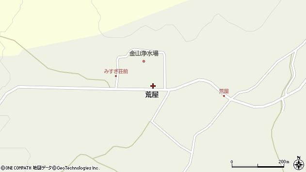 山形県最上郡金山町上台1238周辺の地図