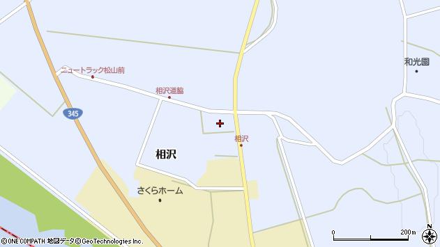 山形県酒田市相沢沢脇32周辺の地図