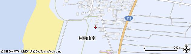 山形県酒田市十里塚村東山南368周辺の地図