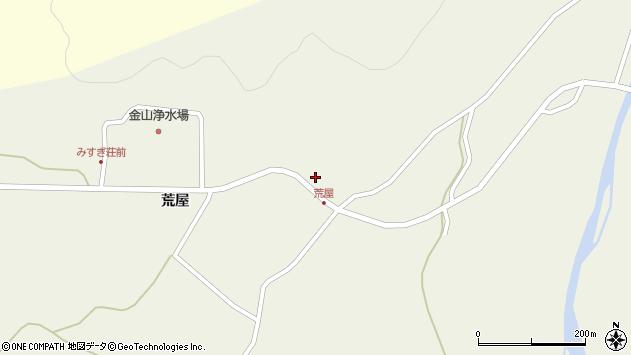 山形県最上郡金山町金山荒屋53周辺の地図