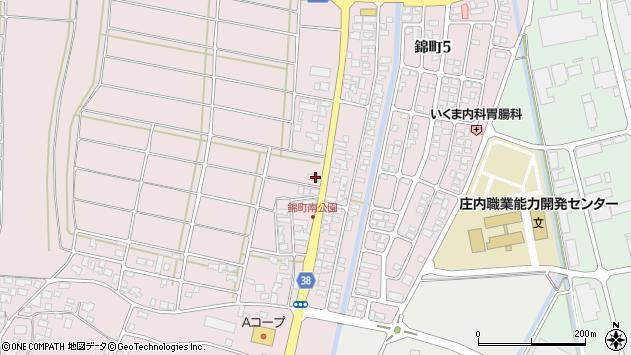 山形県酒田市坂野辺新田東狢山147周辺の地図
