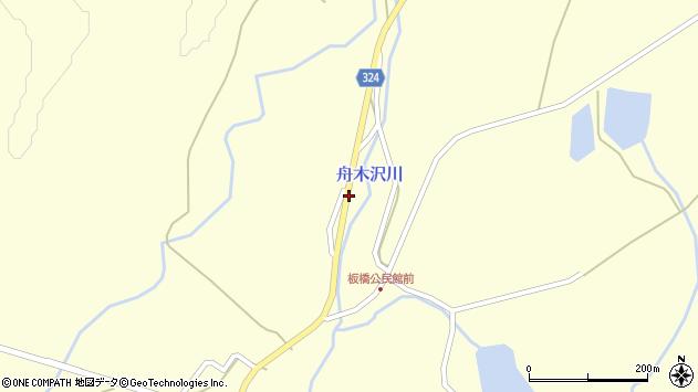 山形県最上郡金山町朴山623周辺の地図