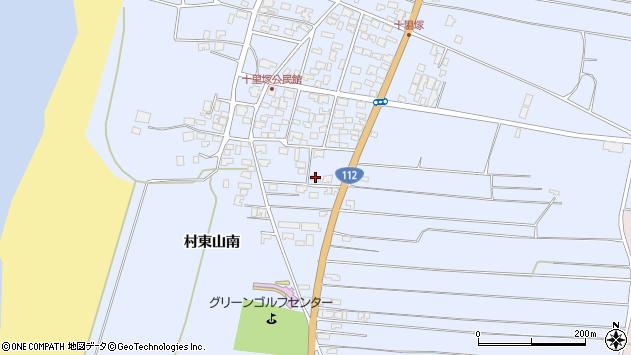 山形県酒田市十里塚村東山南373周辺の地図
