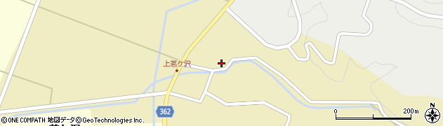 山形県酒田市茗ケ沢沢尻55周辺の地図