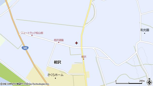 山形県酒田市相沢沢脇29周辺の地図