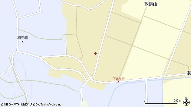 山形県酒田市茗ケ沢前畑109周辺の地図