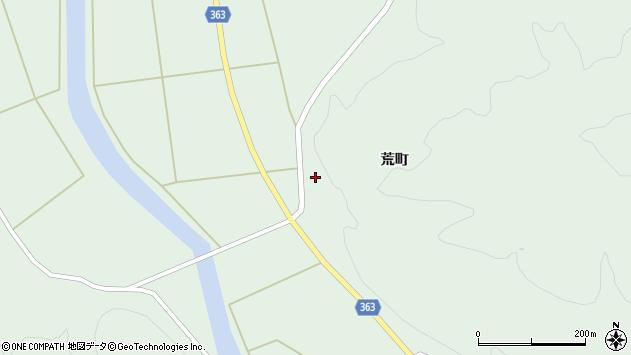 山形県酒田市田沢菅沼山周辺の地図