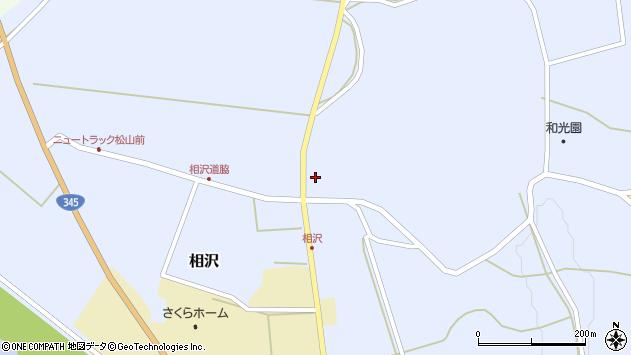 山形県酒田市相沢沢脇30周辺の地図