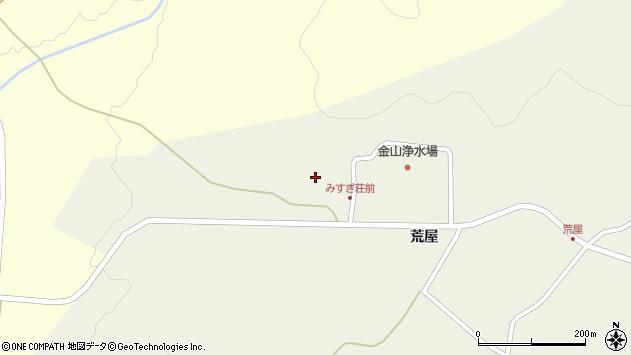 山形県最上郡金山町金山荒屋829周辺の地図