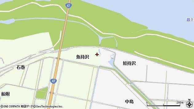 山形県酒田市新堀石巻228周辺の地図