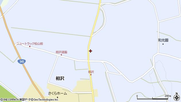 山形県酒田市相沢沢脇28周辺の地図