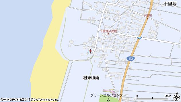 山形県酒田市十里塚高砂子3周辺の地図