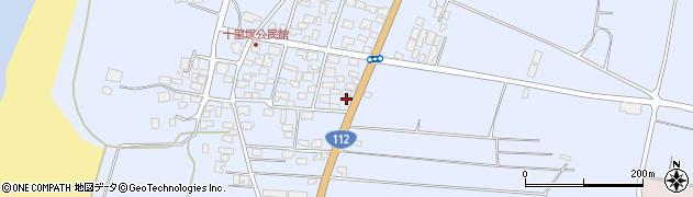 山形県酒田市十里塚村東山北334周辺の地図