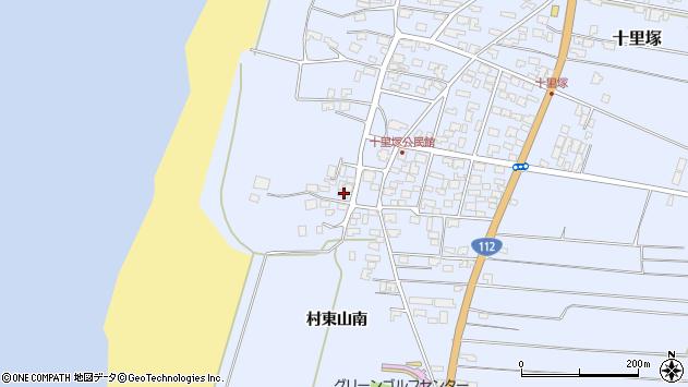 山形県酒田市十里塚高砂子27周辺の地図